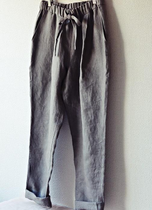 くるぶし丈パンツ②3
