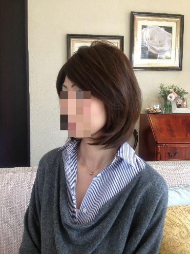 医療用かつらまとめ髪画像/><br /><br /><br /><img src=