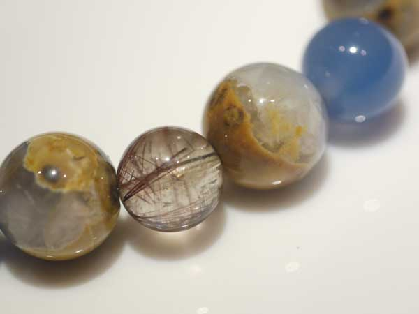 母岩ブルーカルセドニー画像4