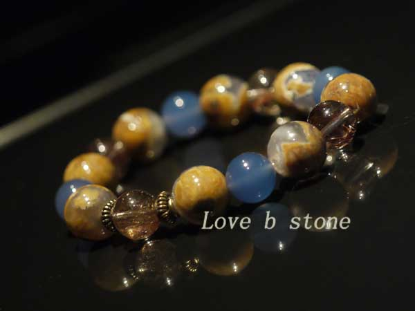 母岩ブルーカルセドニー画像5