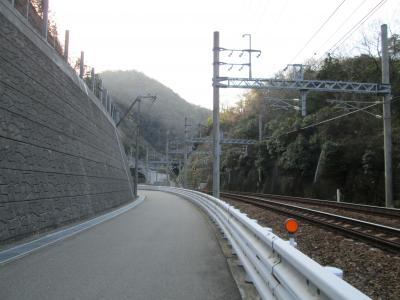 石井ダムへ