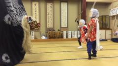 20141017獅子舞練習