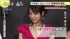 佐々木希キャバ嬢谷間ドレス画像1