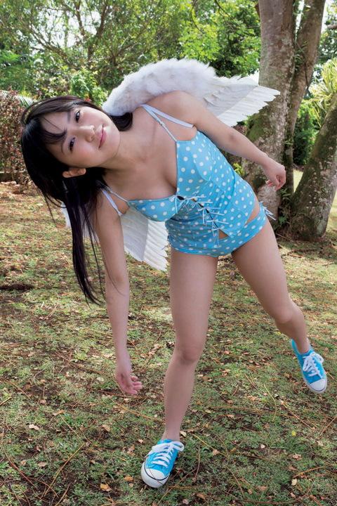 天使のスマイル画像