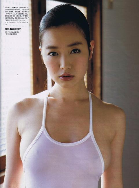 乳首透け画像