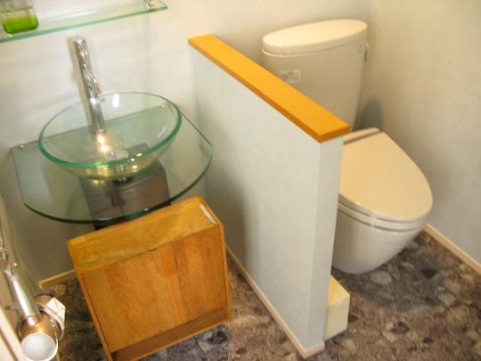 トイレ・洗面所。