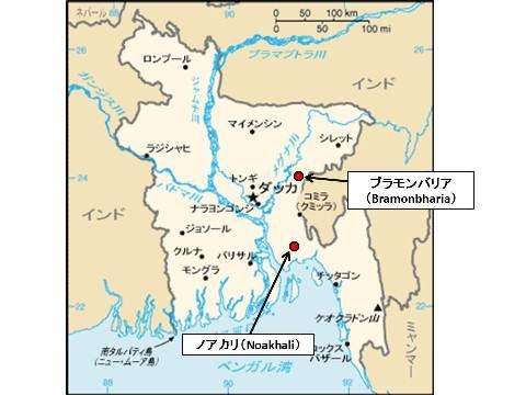 Bangadesh Map_N_B