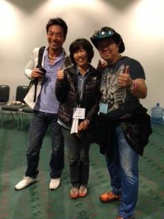 外岡さんと池松さんとクリス岡崎さん