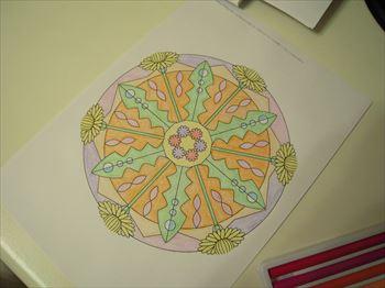 曼荼羅塗り絵 (4)_R
