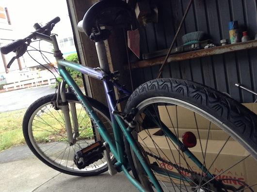 隠弦のぶろぐ 自転車のタイヤ ...