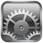 iOS 6 の設定アイコン