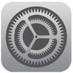 iOS 7 の設定アイコン