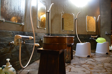 大浴場シャワーホース