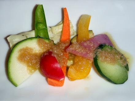 6P7070008 千葉野菜のバーニャカウダ