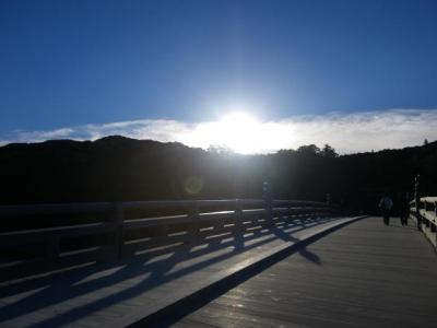 9月26日宇治橋より