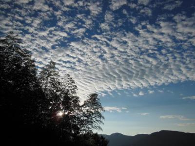 10月3日の雲