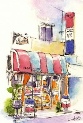 2013フランス製菓店舗