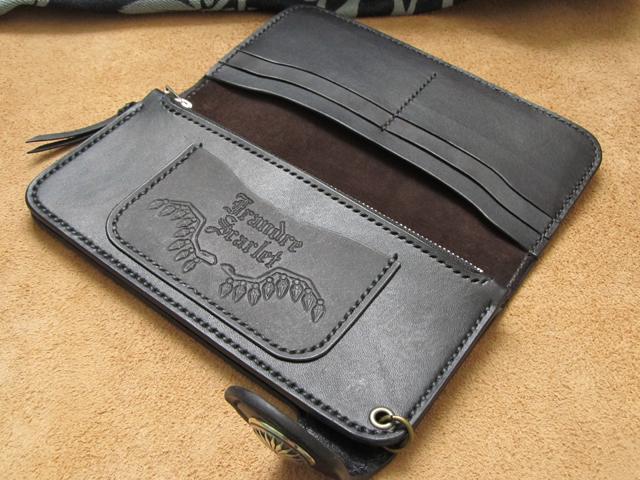 スカルフラン長財布
