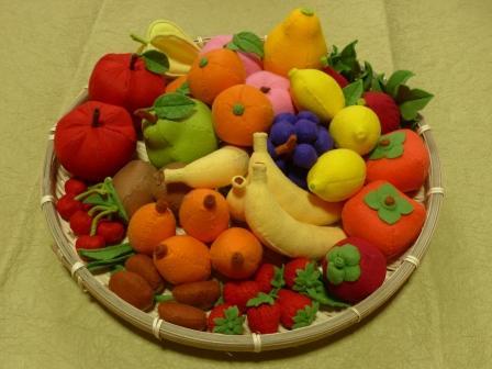 フェルトのフルーツ 全フルーツ1セット