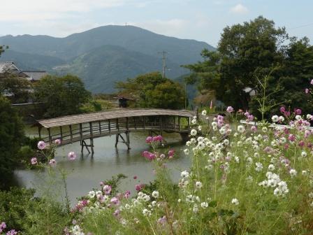 内子町 弓削神社・屋根付き橋 3