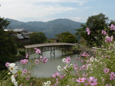 内子町 弓削神社・屋根付き橋 2