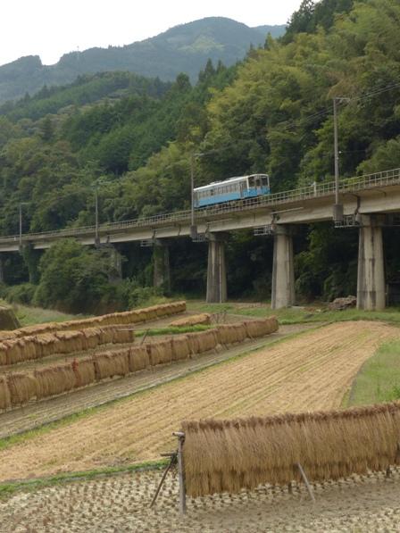 稲木と列車 キハ54形 1