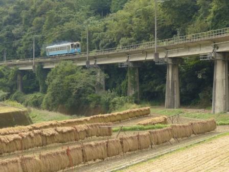 稲木と列車 キハ54形 2
