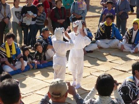 菊間祭 獅子舞 2