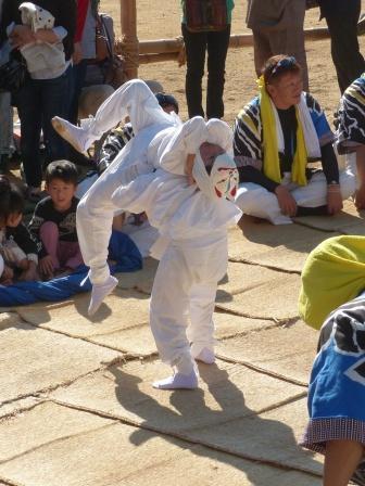 菊間祭 獅子舞 3