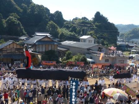 菊間祭 牛鬼 1