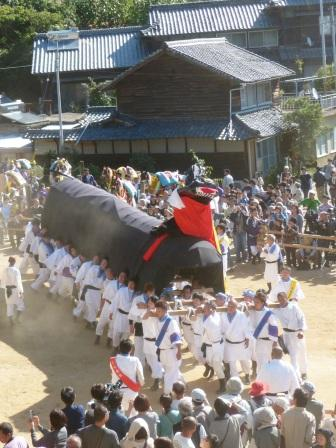菊間祭 牛鬼 2