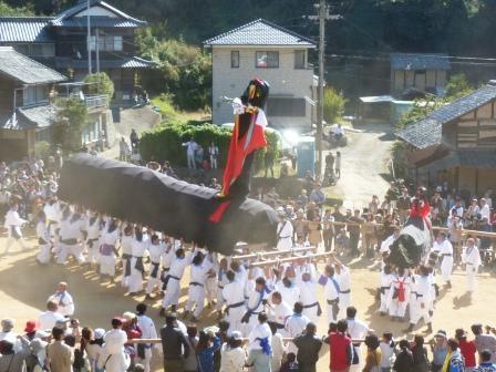 菊間祭 牛鬼 3