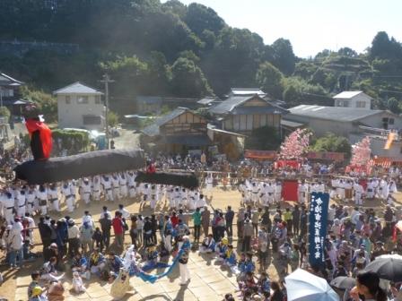 菊間祭 牛鬼 4