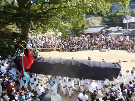 菊間祭 牛鬼 5