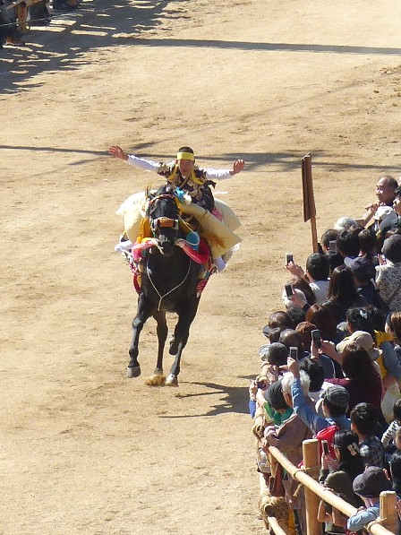 菊間祭 お供馬の走り込み 7