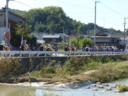 菊間祭 お旅所行列 1