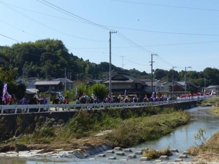 菊間祭 お旅所行列 3