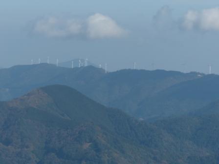 四国カルスト からの眺め