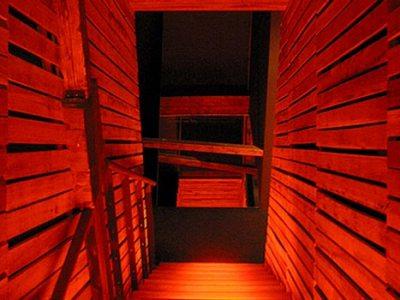 a Kafkaesque passageway