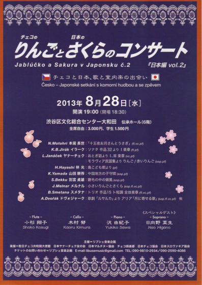 りんごとさくら201308a