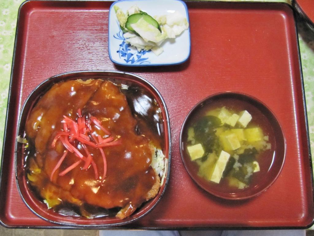あんかけカツ丼 (1)