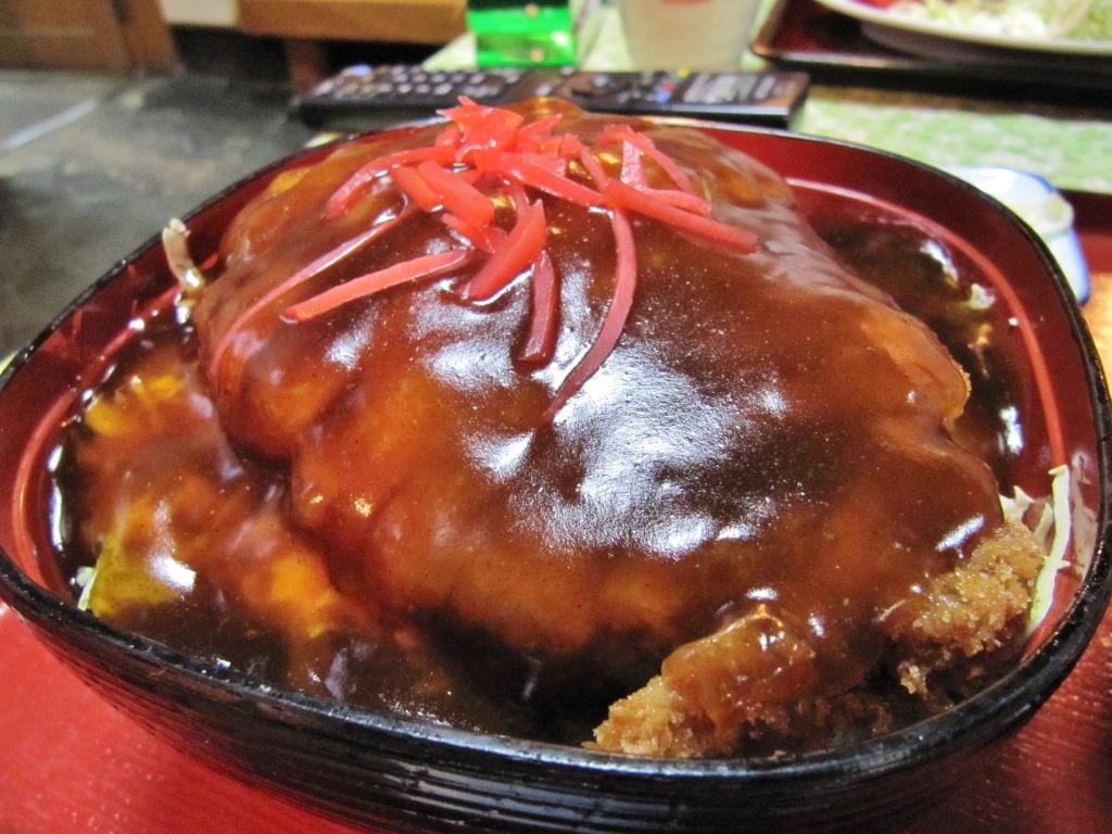 あんかけカツ丼 (2)