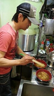 ダブル醤油豚骨ラーメンフェリクロ試食会1