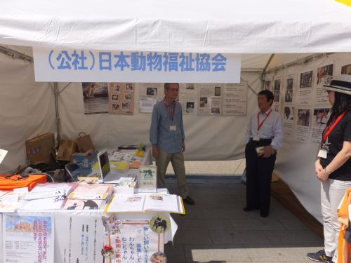 ブース 日本動物福祉協会 DSCF2676