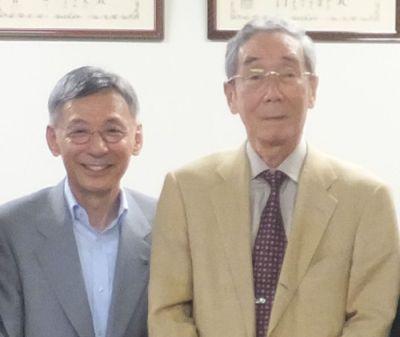 北村先生と小川大使 アップ400