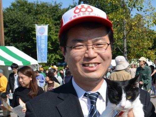 江東区会議議員 河野清史先生 元猫の飼い主