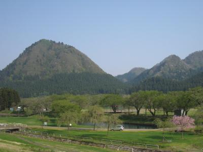 新緑の嶽山
