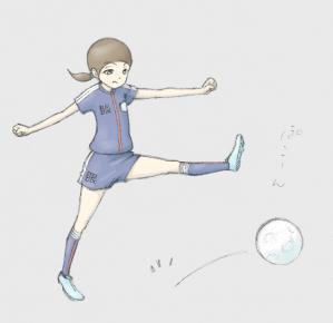 眼ちゃん 球蹴り 01