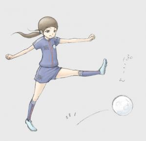 眼ちゃん 球蹴り 01 02