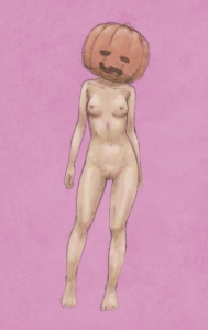 裸パンプキン